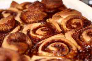 I'd like to apologize to those of you who clicked on my blog because of this delicious picture of cinnamon buns. Photo Credit: Eric Petruno