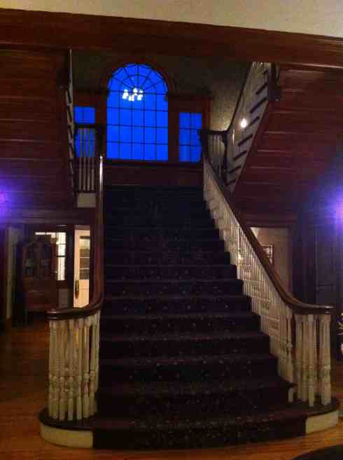 I couldn't possibly publish this post without including the famous staircase from The Stanley Hotel.