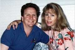 Bonnie with her husband, Eamon, who was killed in the World Trade Center on 9/11/01.