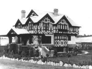 The Dr. John F. and Mary Reddy House in Medford Oregon. Photo (from the National Register of Historic Places) was taken in 1911, the same year of construction.