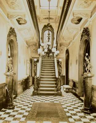 Interior of the Victoria Mansion, Portland, Maine
