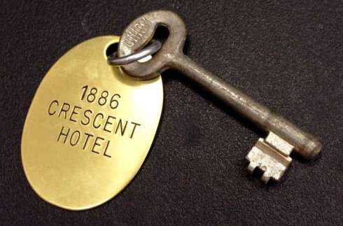 Crescent Hotel 1886 Skeleton Room Key, The Big Seance