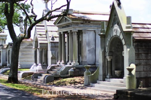 Metairie Cemetery in New Orleans, Louisiana, BigSeance.com