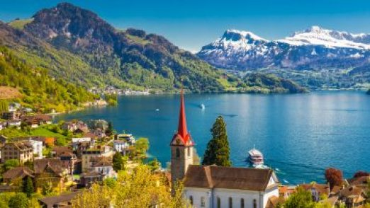 Switzerland of soothing beauty