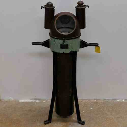 Antique Compensating Binnacle from U.S. Navy Torpedo Boat - 1902