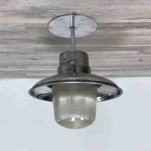 Polished Aluminum Pendant Ceiling Light