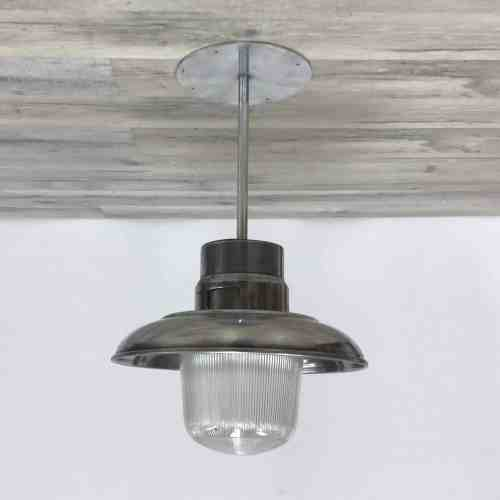 16 Inch Polished Aluminum Pendant Ceiling Light