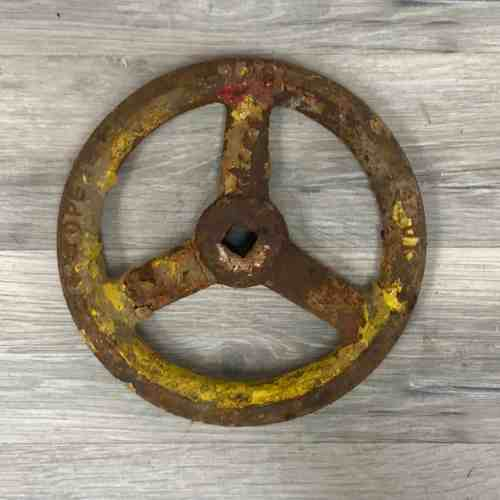 Vintage Nautical Pressure Valve Wheel