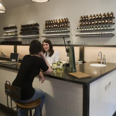 Le Labo custom fragrance area