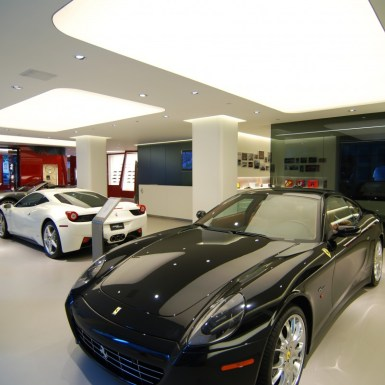 Ferrari Showroom floor
