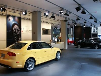 Audi Forum Park Avenue Showroom