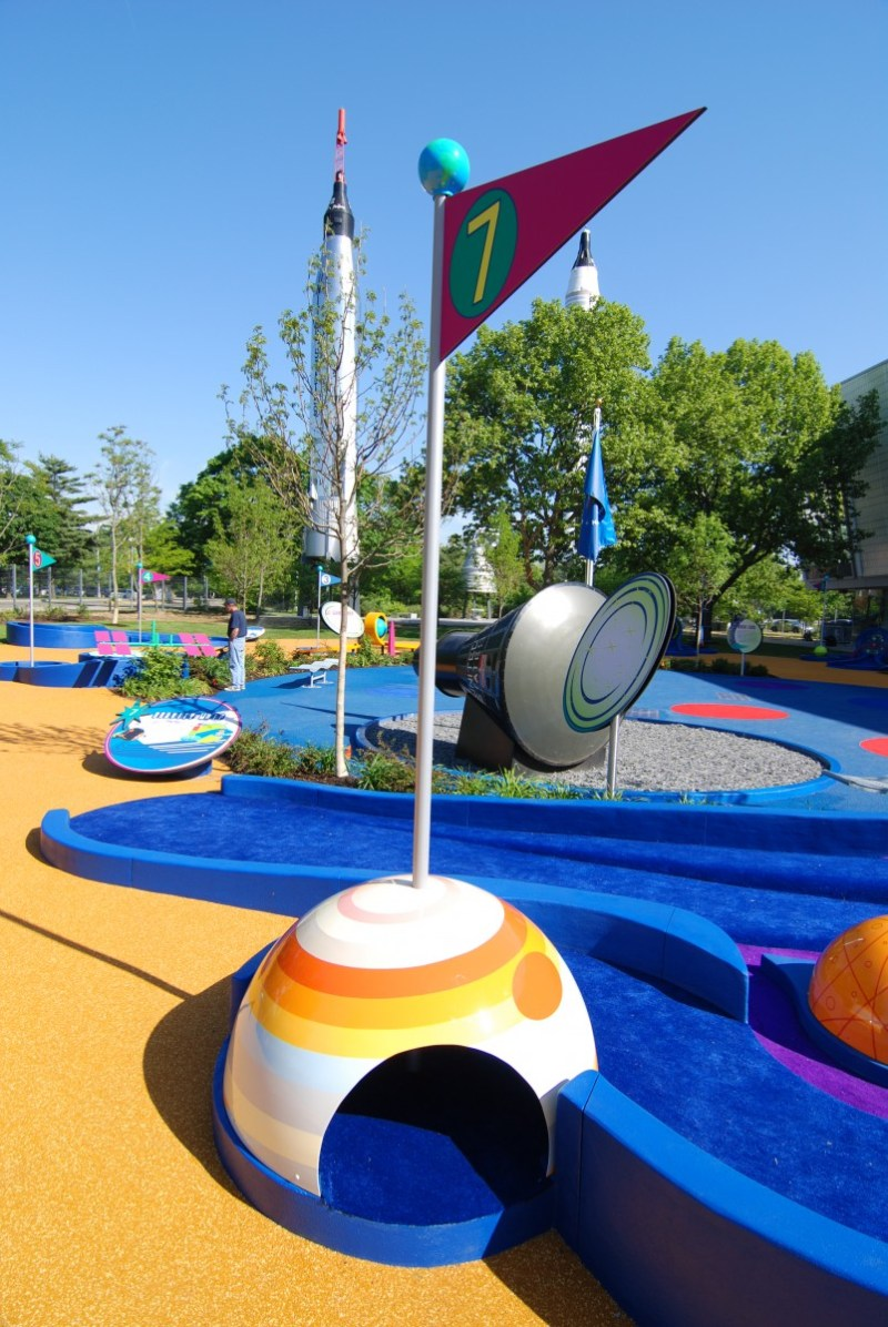 Rocket Park hole 7 gravity whip