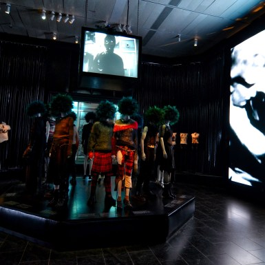 Met_Museum_Punk_Heroes_LED_Wall_and hung projection