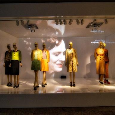Met Prada Schiaparelli Portrait projection