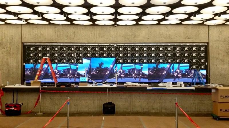 Met Breuer LED Digital Signage Install 2