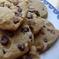 Chewy Chocolate Chip Cookies made with Amaranth, Brown Sugar and Sea Salt (Gluten-Free)