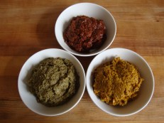 Red, Yellow and Green Thai Curry Pastes https://bigsislittledish.wordpress.com/2012/04/14/red-yellow-and-green-thai-curry-pastes/