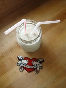 Tahini Milkshake https://bigsislittledish.wordpress.com/2012/04/12/tahini-milkshake-dairy-free/