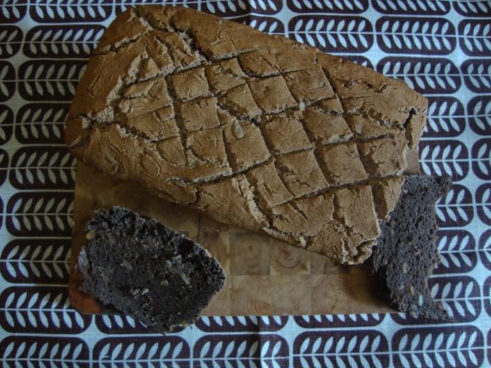 Gluten Free Dark Sour Bread (Inspired by Estonian Lieb) https://bigsislittledish.wordpress.com/2012/10/27/gluten-free-dark-sour-bread-inspired-by-estonian-leib/