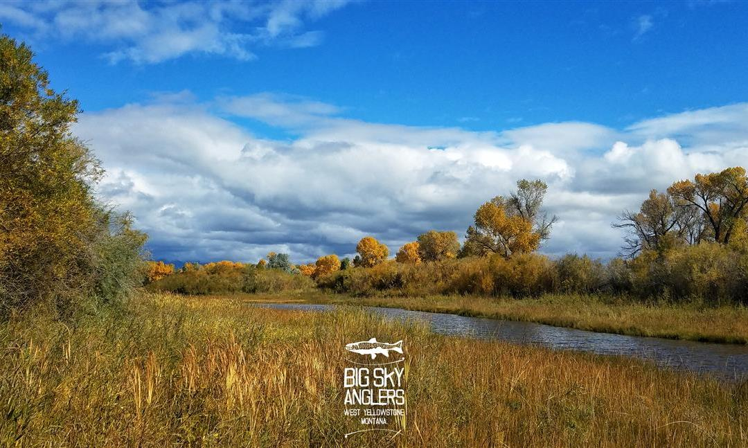 Big Sky Anglers Weekly Fishing Report – 10/11/2018
