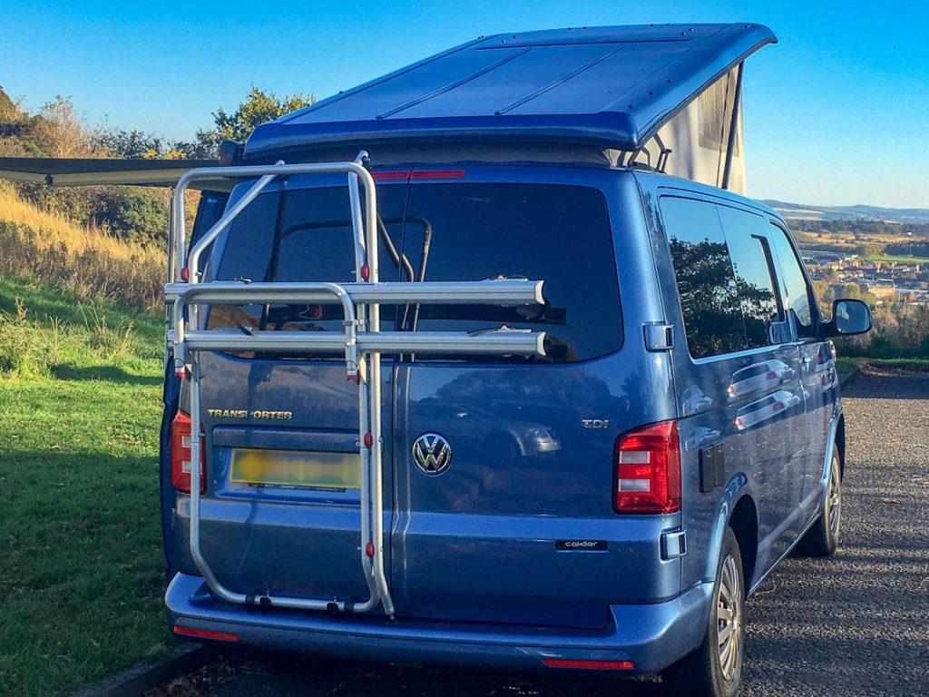 volkswagen transporter campervan hire edinburgh