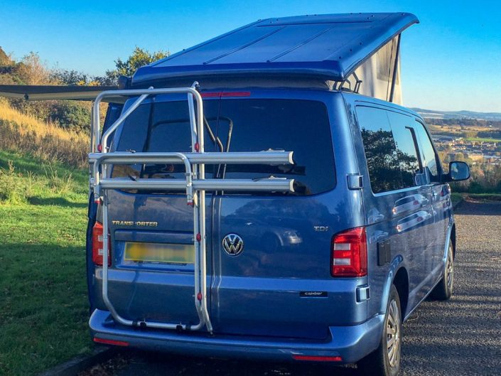 volkswagen transporter campervan hire edinburgh