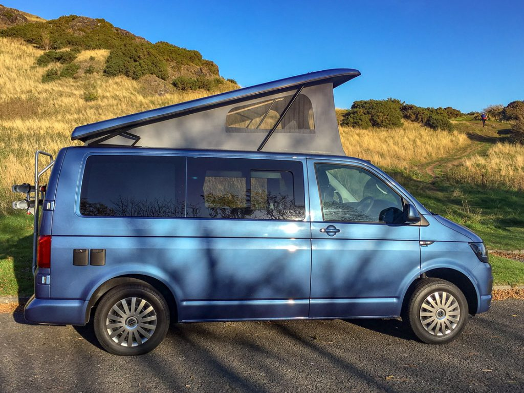 Betty vw campervan hire scotland