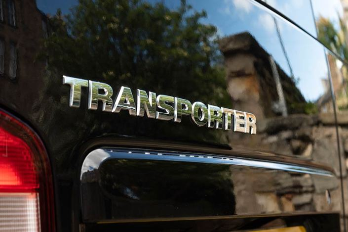 VW Transporter Hire Scotland black campervan