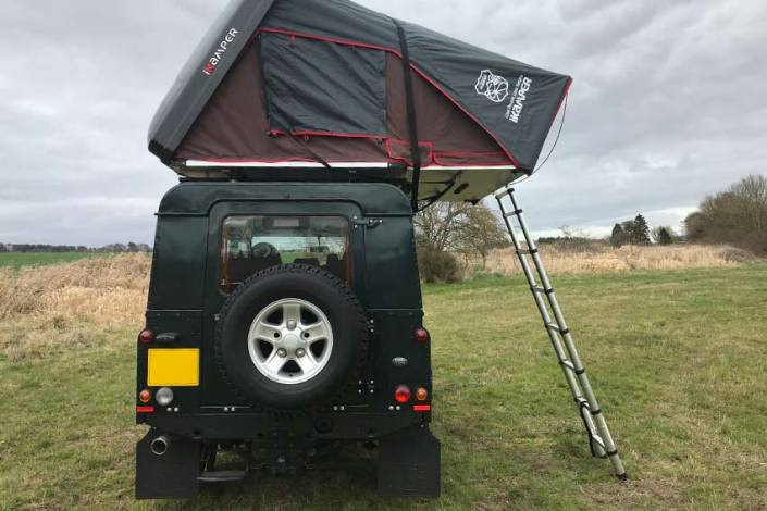 Land Rover Camping Rent a campervan Scotland