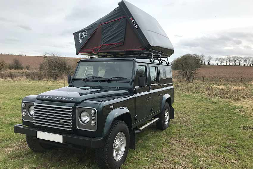 Rent a Land Rover Campervan in Scotland.