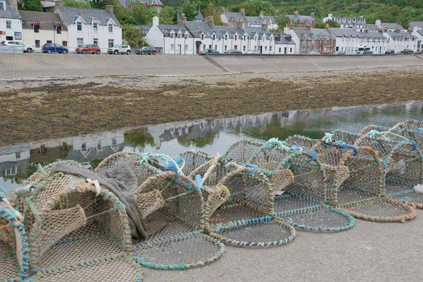 North Coast 500 Intinerary - Lobster pots Ullapool