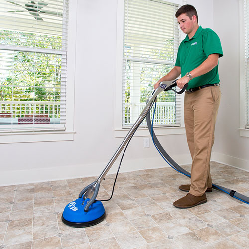 stone tile grout cleaning