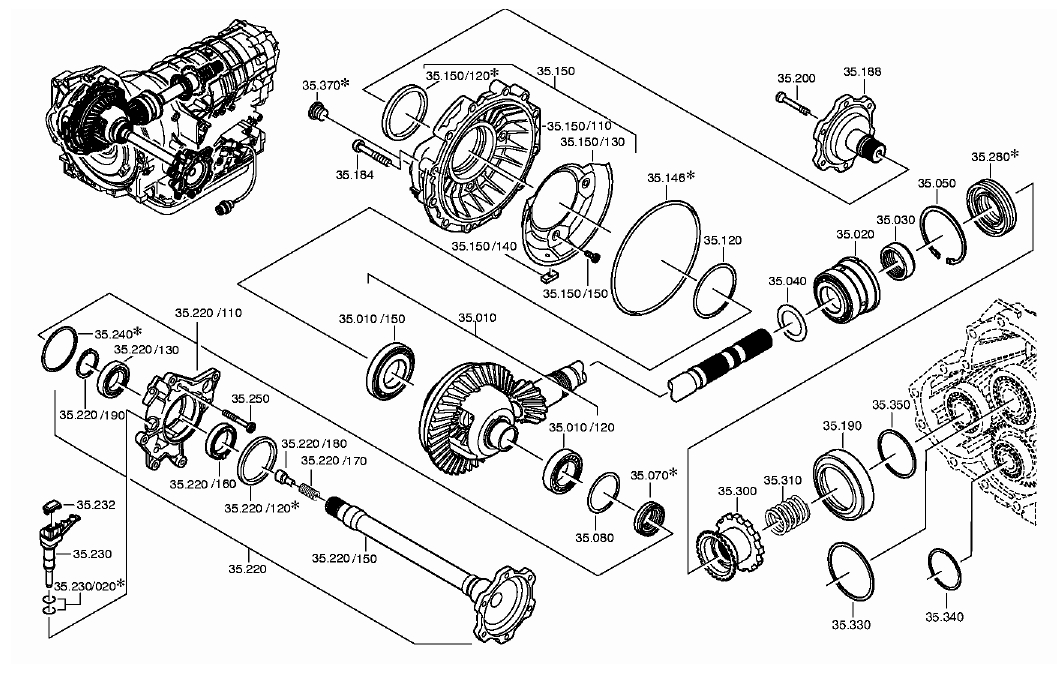 Front Drivers side trans bearing: where to get them