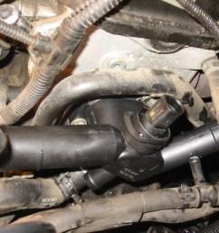 vwvortex com diy replacing driver side coolant flange on a mkiv jetta 8v [ 1024 x 768 Pixel ]