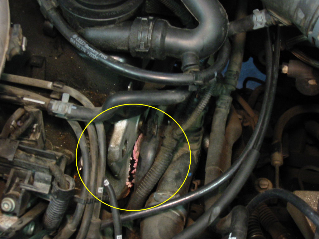 hight resolution of thread diy replacing driver side coolant flange on a mkiv jetta 8v 2 o