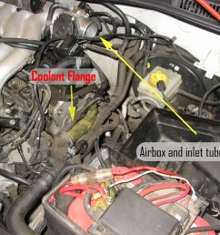 vwvortex com diy replacing driver side coolant flange on a mkiv jetta 8v 2 o  [ 1024 x 768 Pixel ]