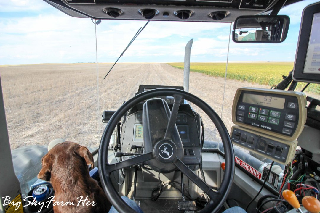 Why is driving a tractor emotionally exhausting?