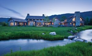 home in Jackson Hole, Wyoming
