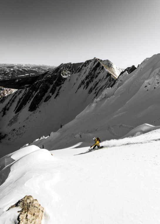 Snowboarder Reno Walsh explores fresh powder and epic terrain in Montana's vast backcountry.