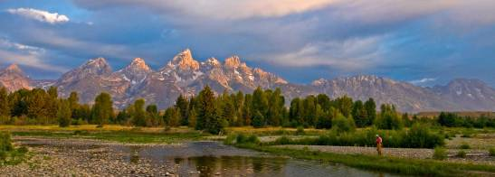 Teton Fishing by Ken Takata