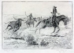 """Busting a Steer 