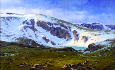 """""""Fourth of July on the Beartooth""""   Oil and Linen   30"""" x 48"""""""