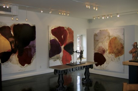 The Diehl Gallery in Jackson prides itself of reshaping the idea of art in the West, exhibiting paintings and sculpture with modern art leanings.