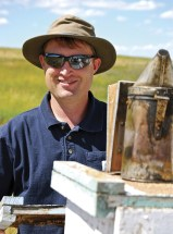 """Smoot takes pride in their label as """"Montana's best honey."""""""