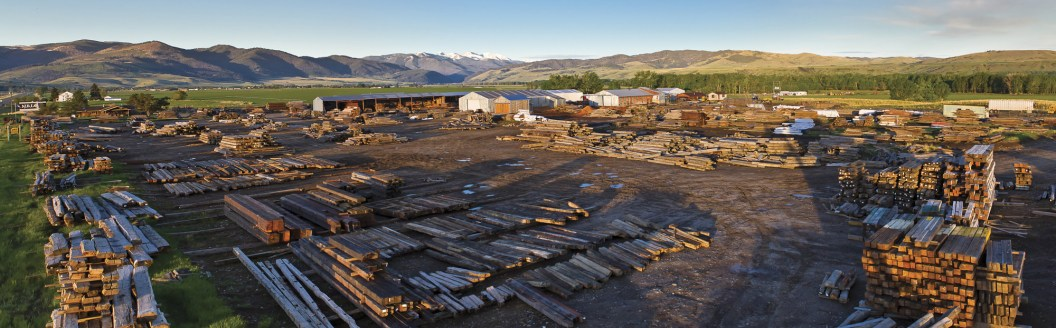 Halverson traverses the United States and Canada scouting out unique one of a kind materials, from hand hewn timbers that once supported antique barns to structural beams from 17th-century grist mills, all find their way to MRL's Montana headquarters ju