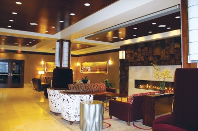 Lobby of the Northern Hotel. | Photo courtesy of the Northern Hotel