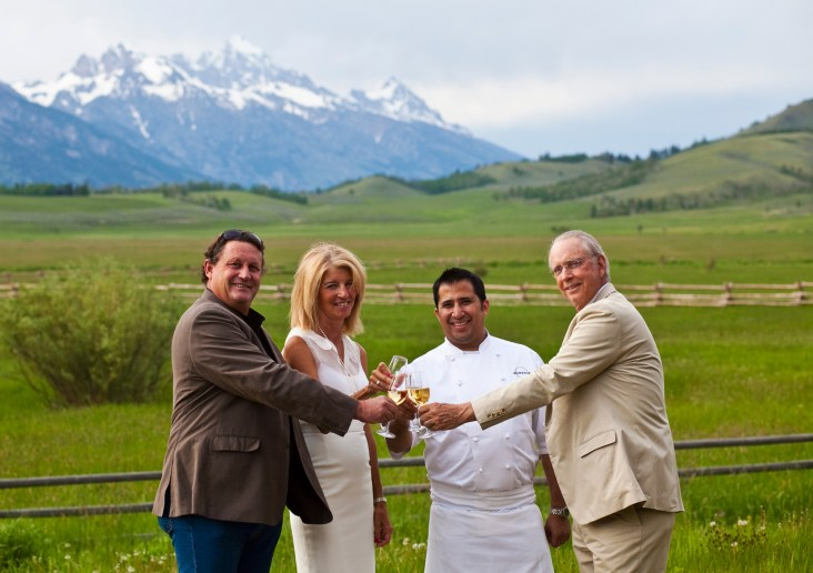 Photography Courtesy of Jackson Hole wine auction