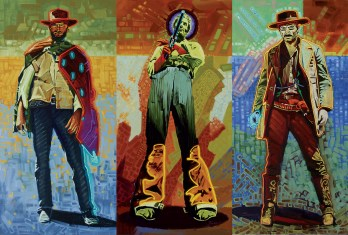 """Neon Gunslingers"" 