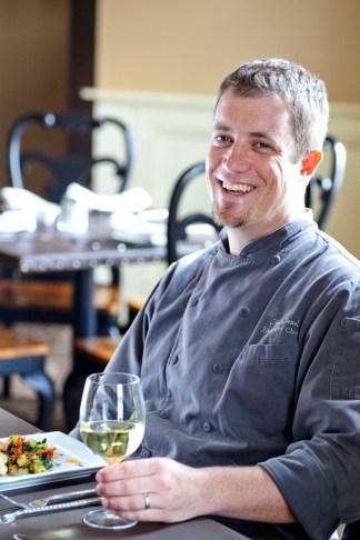 Pompey's Grill head chef Matt Israel
