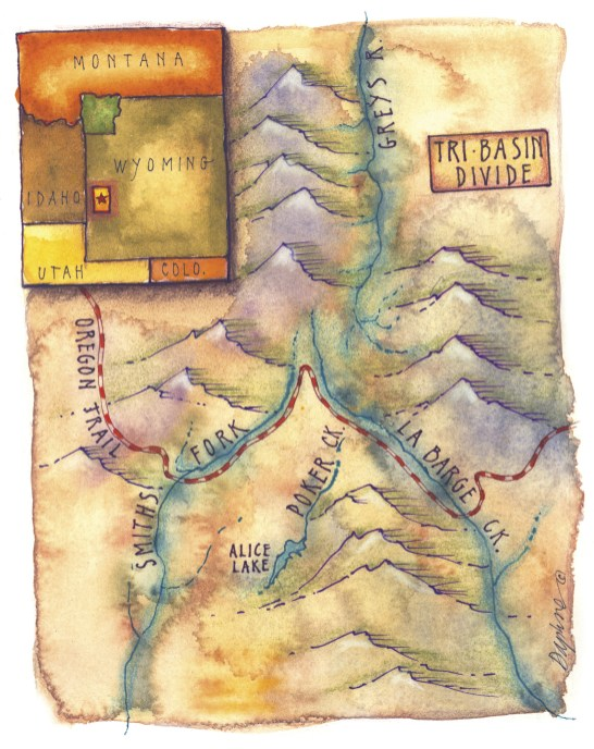 Map Illustration by Daphne Gillam
